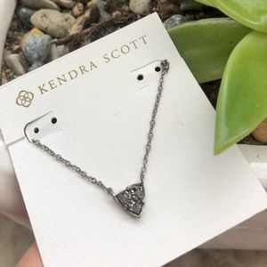 Kendra Scott Perry drusy necklace